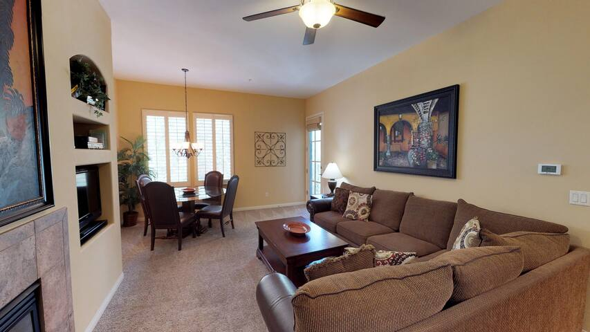 (LV104) Upstairs One Bedroom with a West Facing Private Balcony