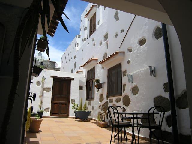 Vivienda tradicional Canaria Saulo 1 - Agüimes - Apartamento
