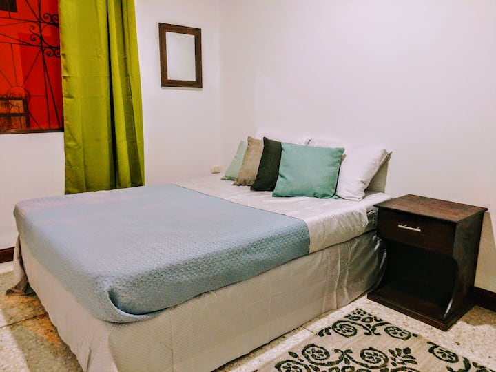 Double Room Shared Bathroom at  Stray Cat Hostel