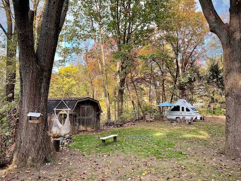 Tiny Camper at the Homestead at Miller Road