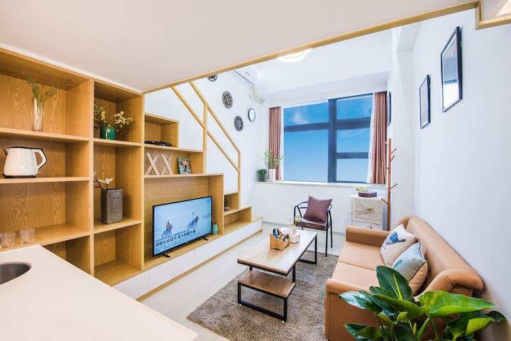 厦门-优家假日 新房特惠  4号短租民宿公寓 BRT沿线复式 - Xiamen - Apartamento