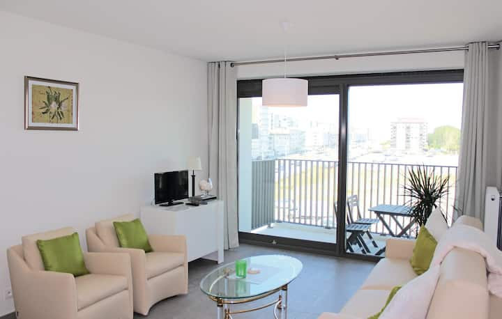 Holiday apartment with 1 bedroom on 55m² in Oostende