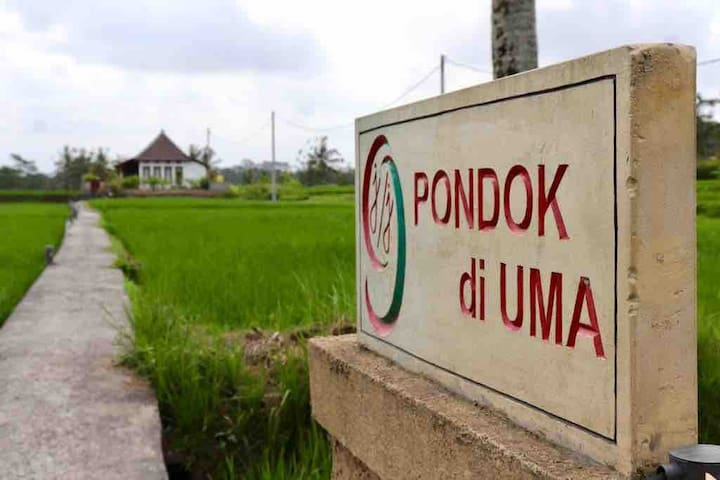 Pondok di Uma, a Traditional relaxing house