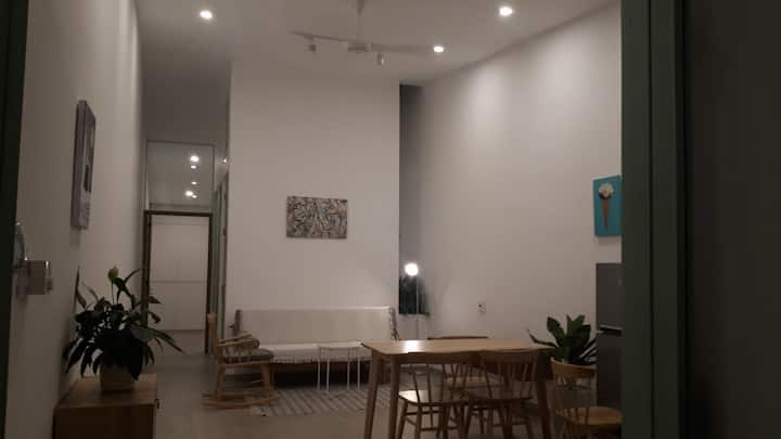 Cute 1-bedroom house near Lotte Mart supermarket