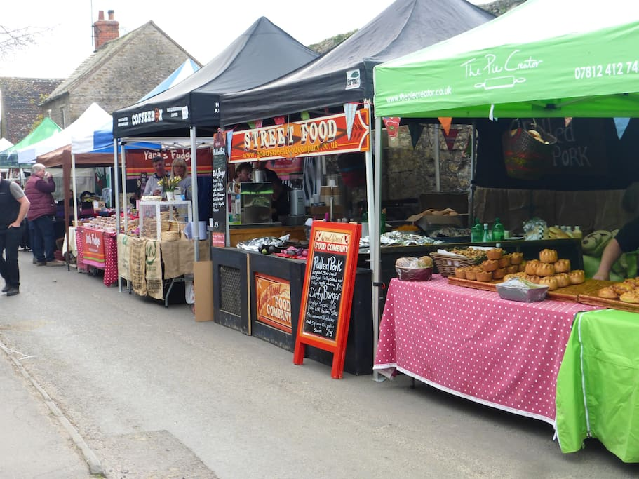 Mells Daffodil Day Market Easter Monday
