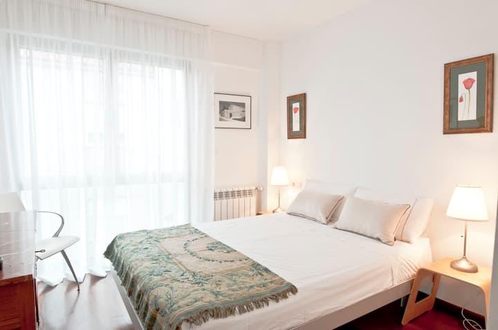 El Palco, casa con encanto. Dormitorio Coroa