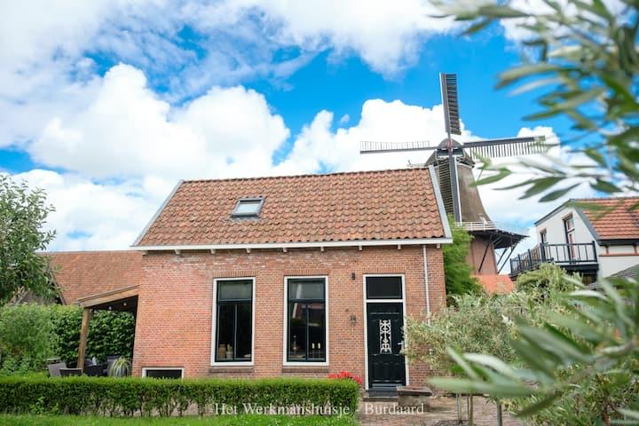 B&B Het Werkmanshuisje - genieten in Friesland