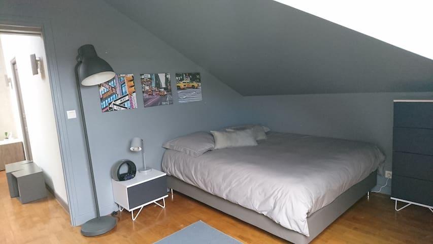 Chambre dans un cadre arboré proche de Lyon centre - Dardilly - Gästehaus