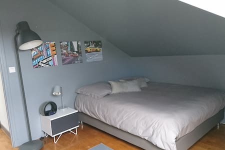 Chambre dans un cadre arboré proche de Lyon centre - Dardilly - 民宿