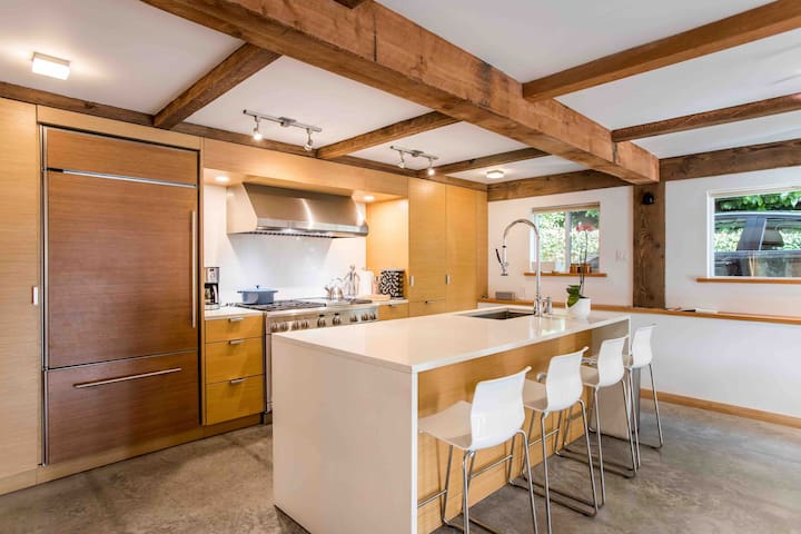 Professional well equipped kitchen