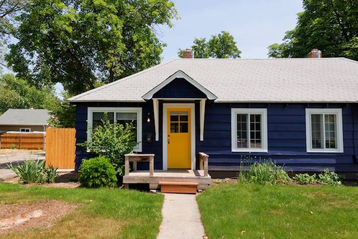 Bungalow in downtown Boise set amid a lovely historic tree lined neighborhood.