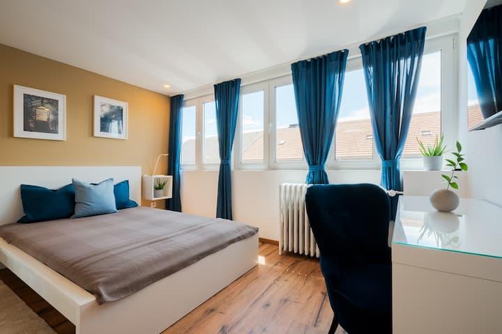 Zentrales 30-qm-City-Apartment (Nr. 7) für 2 Pers.