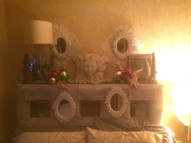 BEDROOM during the Holidays
