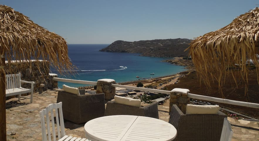 Amazing sea view house (7) at elia - Elia - Hus