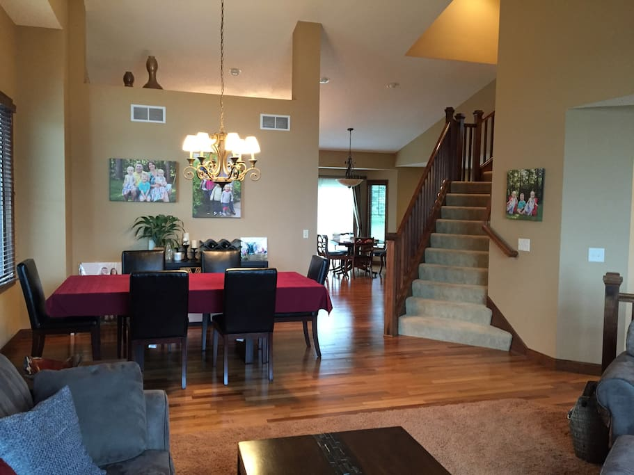 Dining Room Formal Dining Room, table very comfortably seats 8