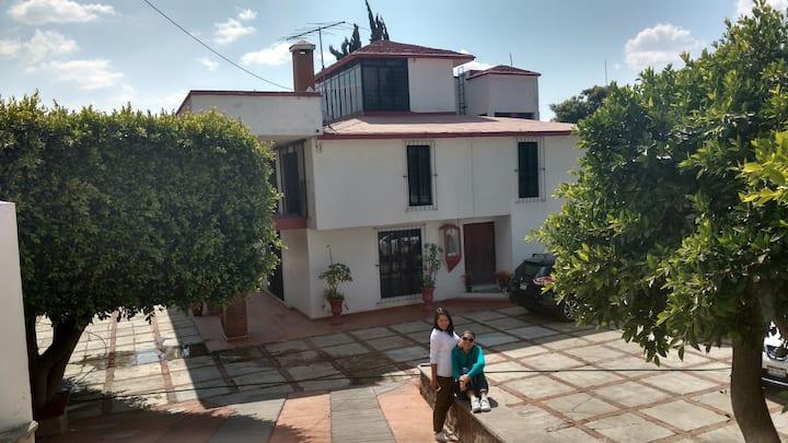 """""""La Casa de los Colores"""" entre Tlaxcala y Puebla"""