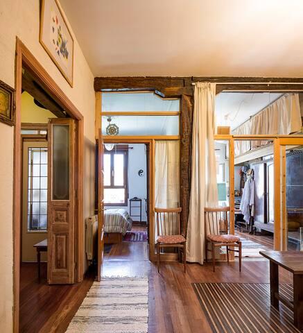 Habitación en Olabeaga, tranquilidad y belleza.