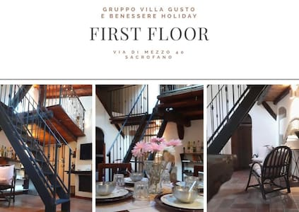 villa gusto e benessere first floor