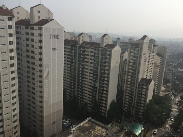 한국의 평범한 아파트