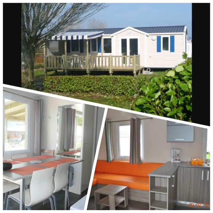 Mobil home 3 chambres baie perros-guirec