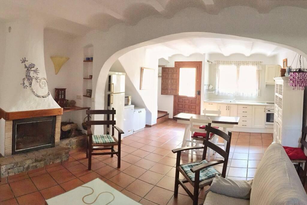 Casa en la monta a casas rurales en alquiler en cortes - Casa rurales comunidad valenciana ...