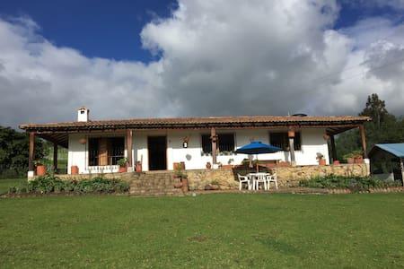 HERMOSO LUGAR CAMPESTRE,IDEAL PARA FAMILIAS - Zipaquirá - Dům