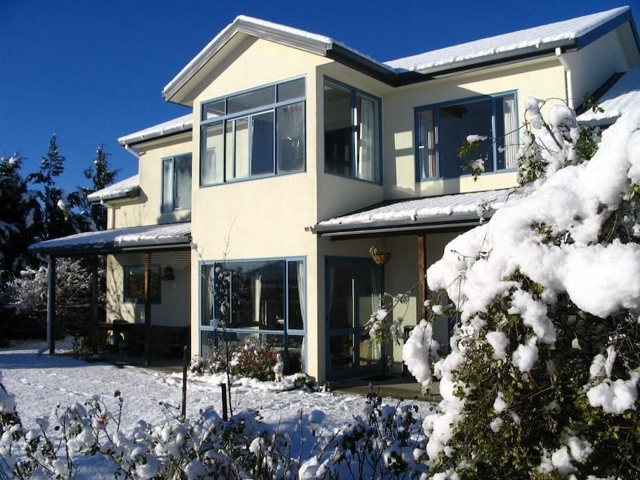 Our home. Close to Mt Hutt Ski field Methven NZ