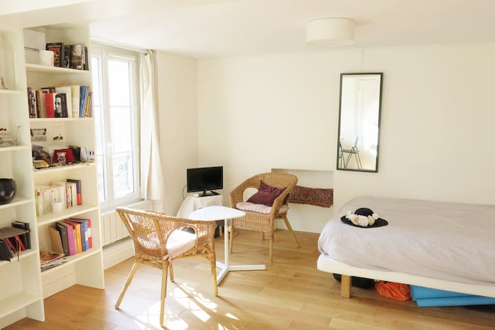 Lovely flat for 2 near Place des Vosges, Marais - Paris - Apartemen