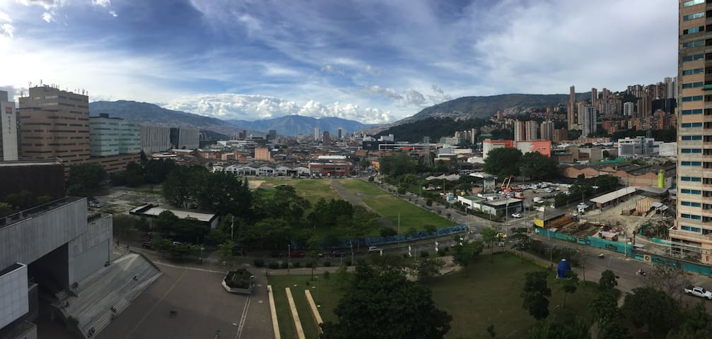 Room with an amazing view near Poblado!