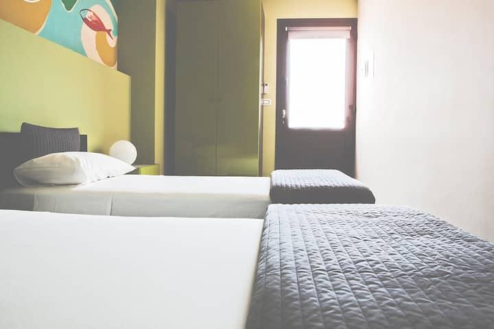 B&B La Scivola Rooms [Letti SIngoli]