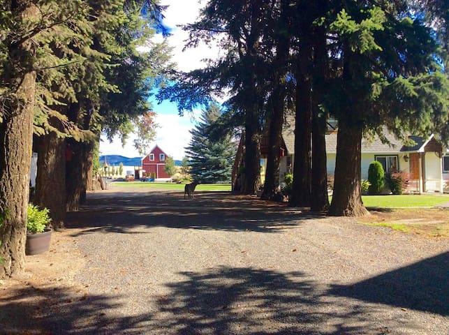 McCown Estate B&B Barn - Potlatch - ที่พักพร้อมอาหารเช้า