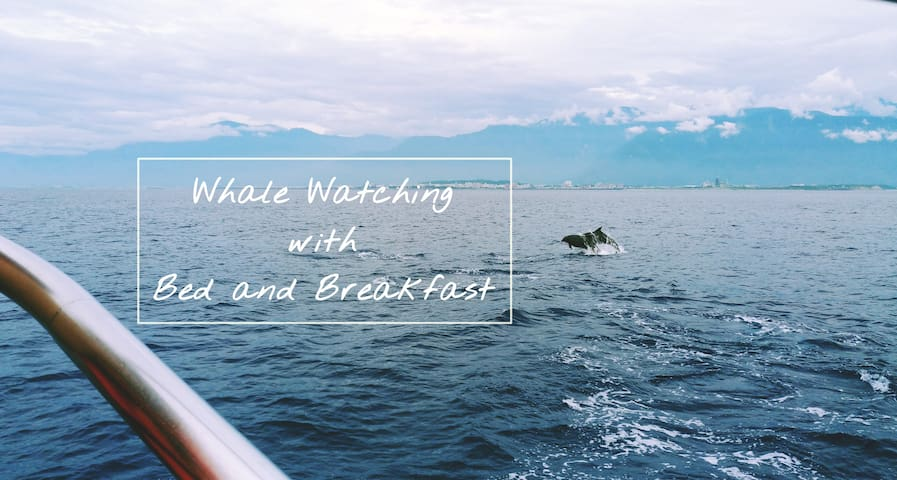 Whale Watching+B&B_6 bed dorm near Hualien station - Hualien City - Apartamento