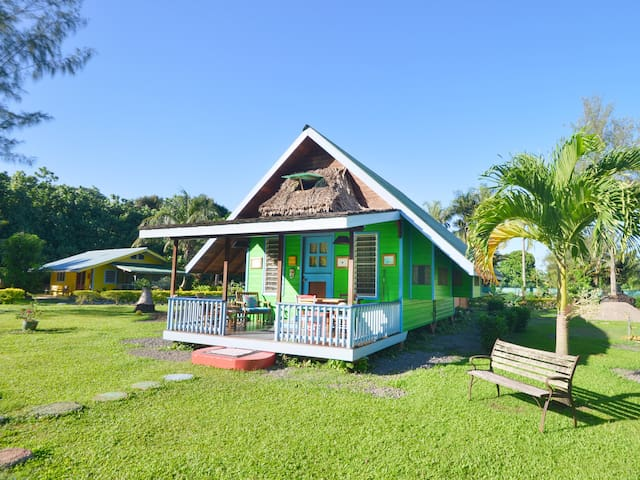 The Spacious Cabana Fare Mahana - Haapiti - Casa
