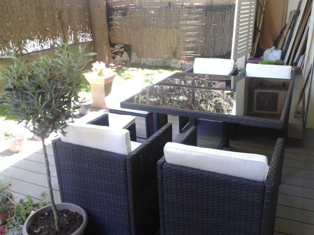 Apt T2 quartier Hôpitaux Facultés (avec jardin) - Montpellier - Apartment