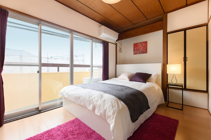 15min to Shinjuku/ Free Wi-Fi/ Japanese Room(7ppl)