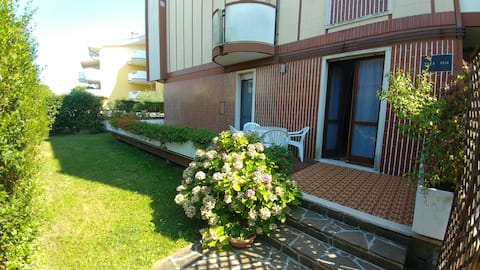 Appartamento con giardino  a Grado