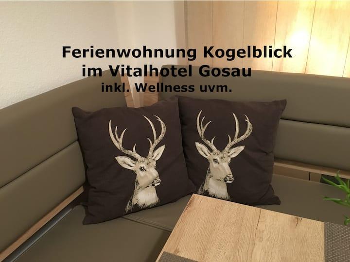 Ferienwohnung Kogelblick Gosau (Balkon, Wellness)