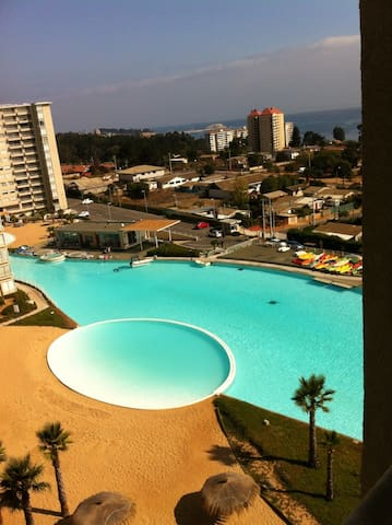 Great View Linda Vista al mar Algarrobo - Algarrobo - Apartment