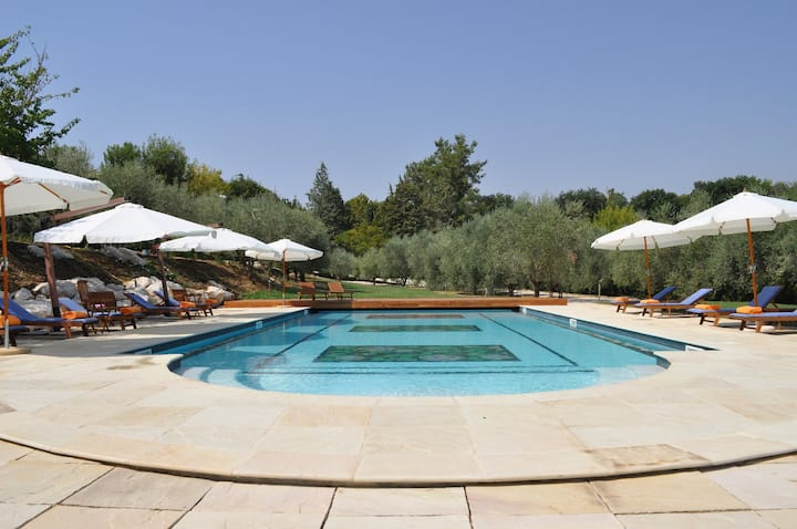 Villa with 7 bedrooms in San Michele, with shared pool, furnished garden and WiFi - 20 km from the beach