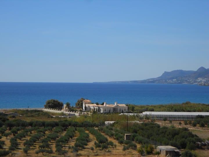 Unique neo-classical luxury sea front villa for 10