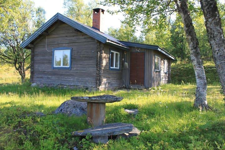 Mysig fjällstuga i Tänndalen med storslagen utsikt