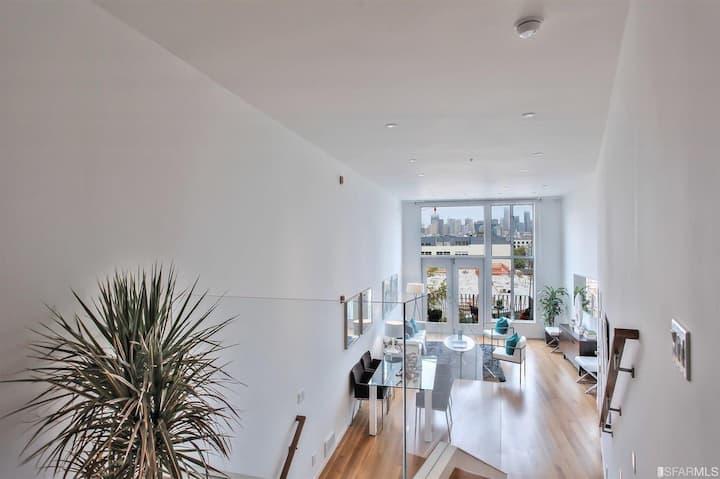 A luxe loft at the heart of Potrero hill