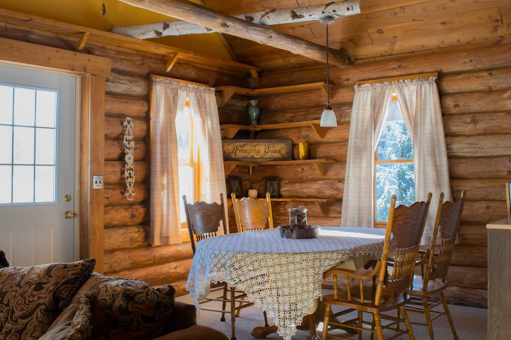 Cozy dining area