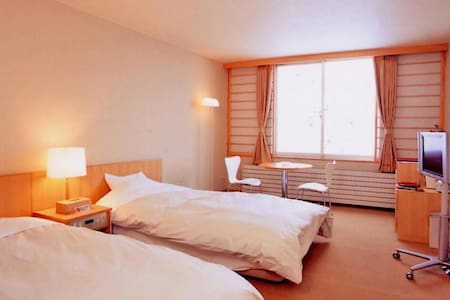 【Tokachi area】十勝エリア,Onsen open-air bath available,Free Wi-Fi,Bedroom(3 pax)[Breakfast included]