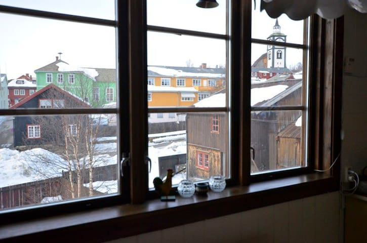 Spacious apartment in the centre of town - Røros - Apartment