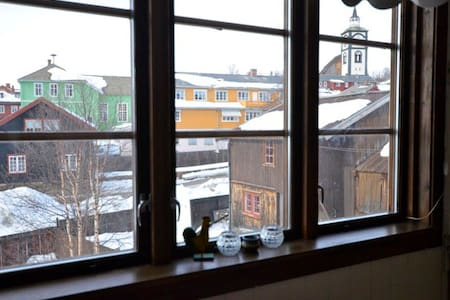 Appartment in the centre of World Heritage town - Røros - Leilighet