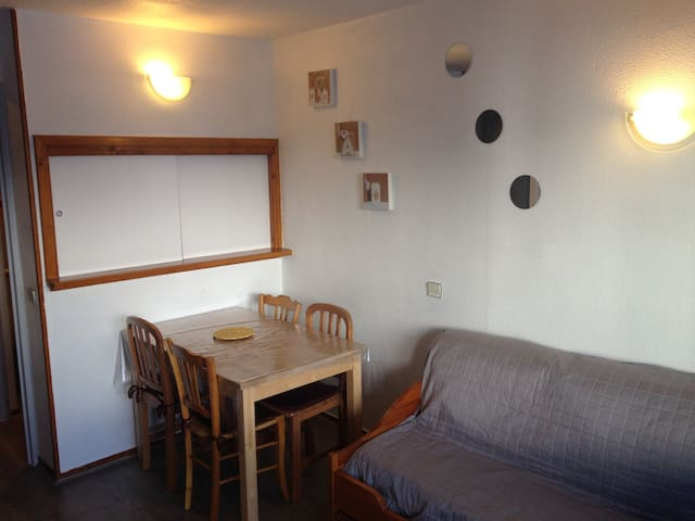 Appart 24m2 WIFI/PARKING inclus pied des pistes - Tignes - Flat