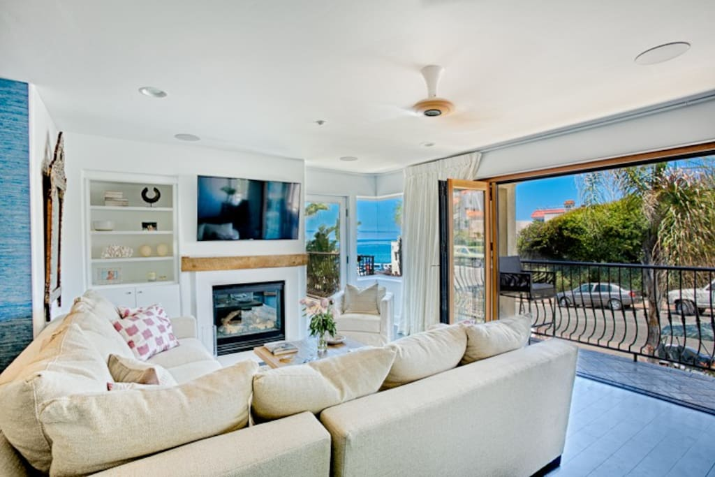 Stunning Ocean Views and access to Balconies