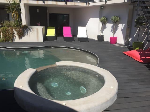 superbe villa contemporaine - Castelnau-le-Lez - Villa