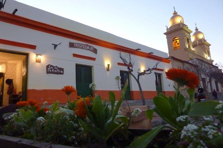 Lo de Peñalba, frente a la plaza de Cafayate - Cafayate - Guesthouse